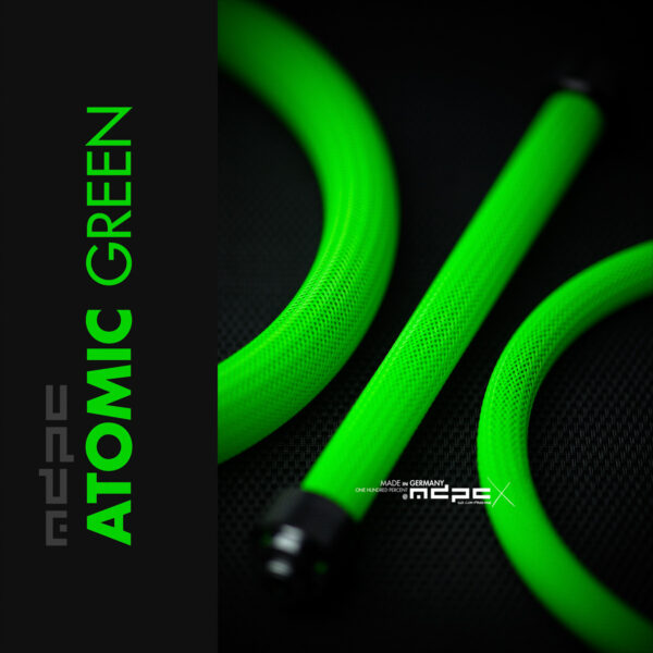 ATOMIC-GREEN | BIG kábelharisnya 1